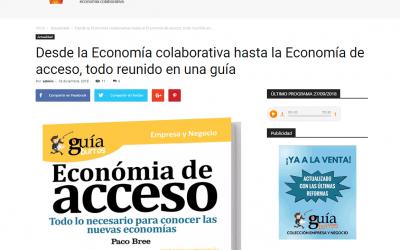 Colaborum, medio de comunicación especializado en economía colaborativa recomienda el GuíaBurros: Economía de acceso